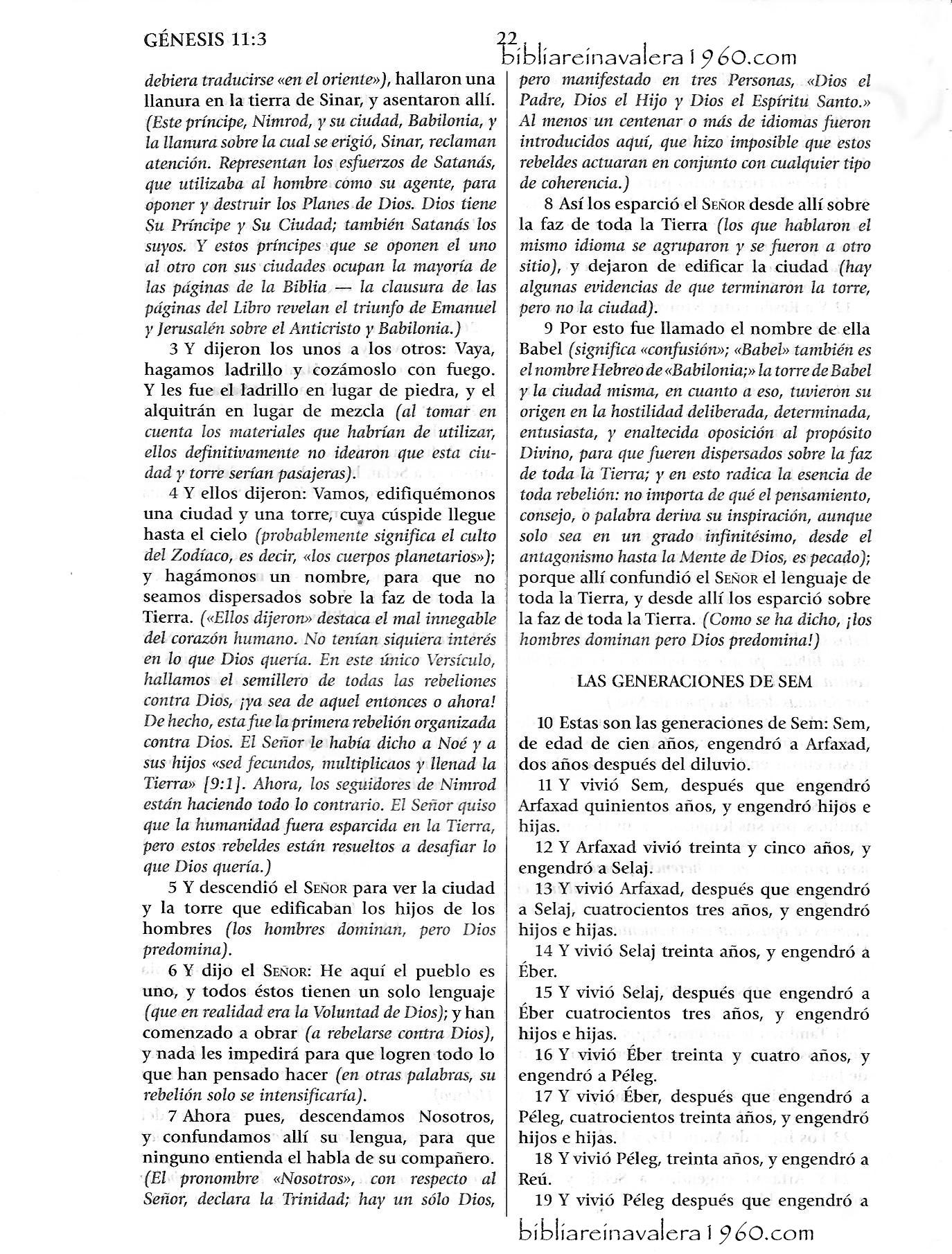 genesis 11 explicacion Genesis 11 Explicacion 22