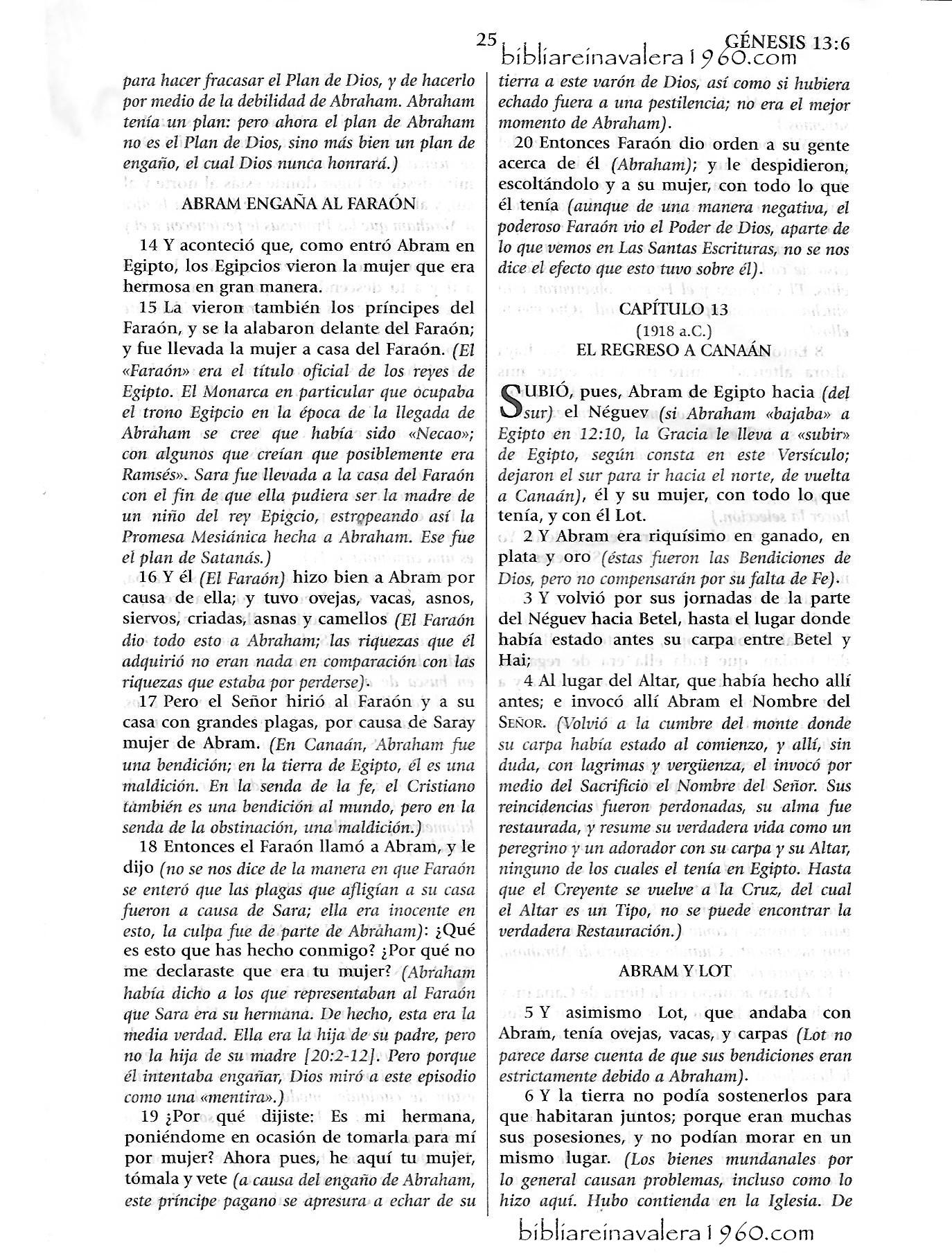 Genesis 13 Explicacion 25