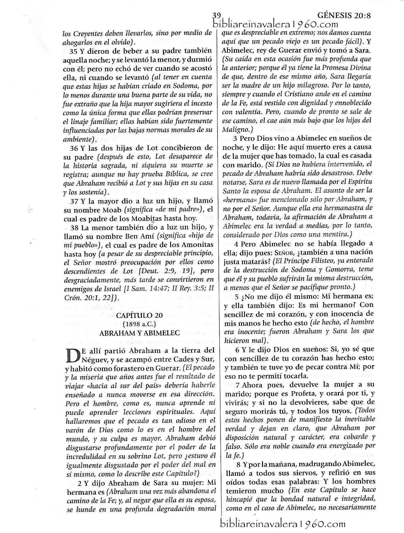 genesis 20 explicacion Genesis 20 Explicacion 39