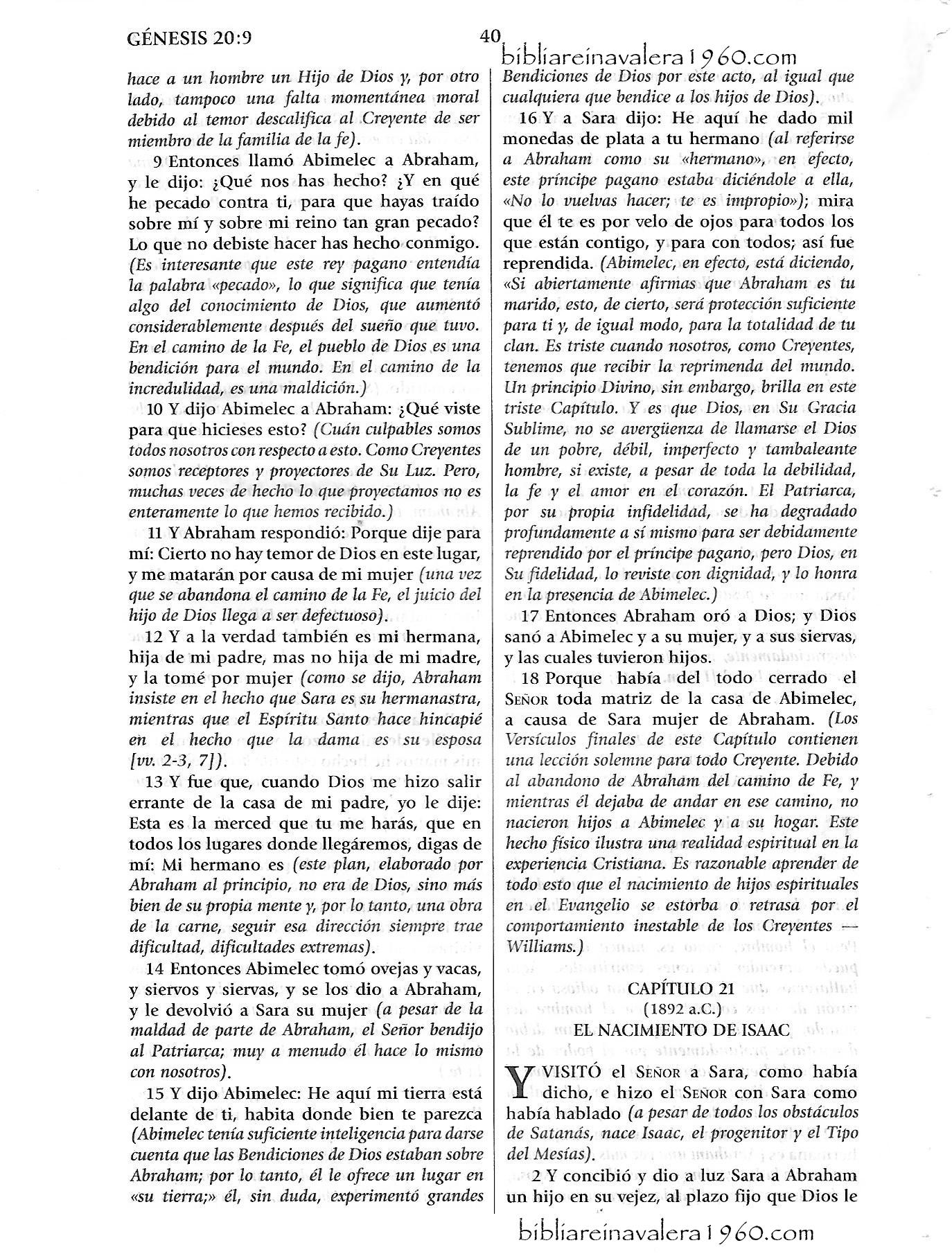 genesis 20 explicacion Genesis 20 Explicacion 40