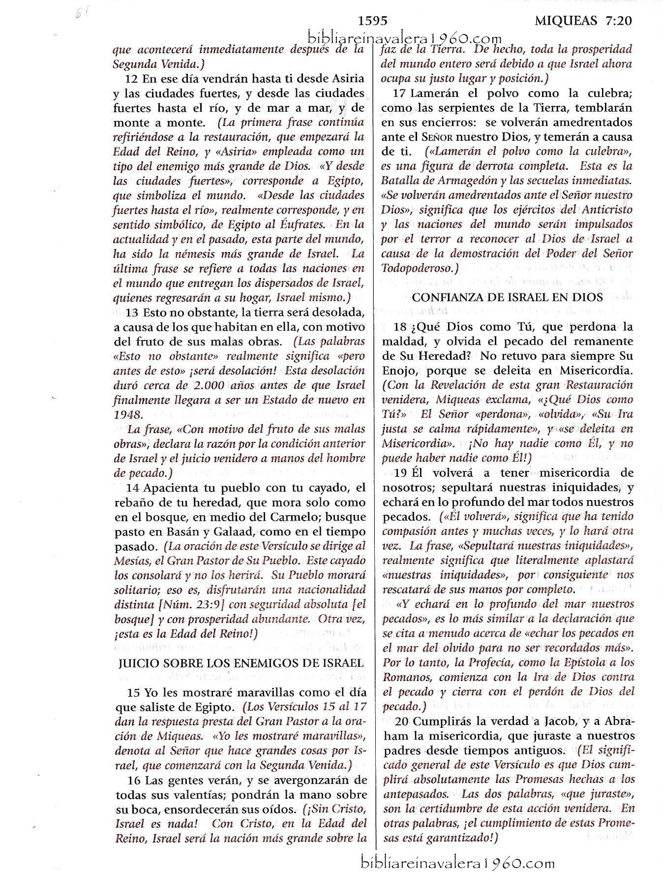 miqueas 7 explicacion 1595