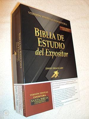 Biblia de Estudio del Expositor